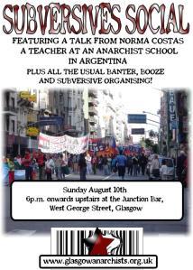 Glasgow Anarchists Present ...