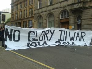 George Square Big Banner